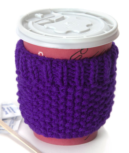 Lovely 10 Easy Knit Coffee Cozy Free Patterns to Knit Up Quickly Knitted Mug Cozy Of Unique 48 Photos Knitted Mug Cozy