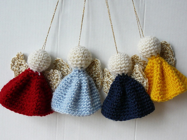 Lovely 10 Free Crochet Christmas ornament Patterns Crochet Christmas Decorations Of Perfect 50 Ideas Crochet Christmas Decorations