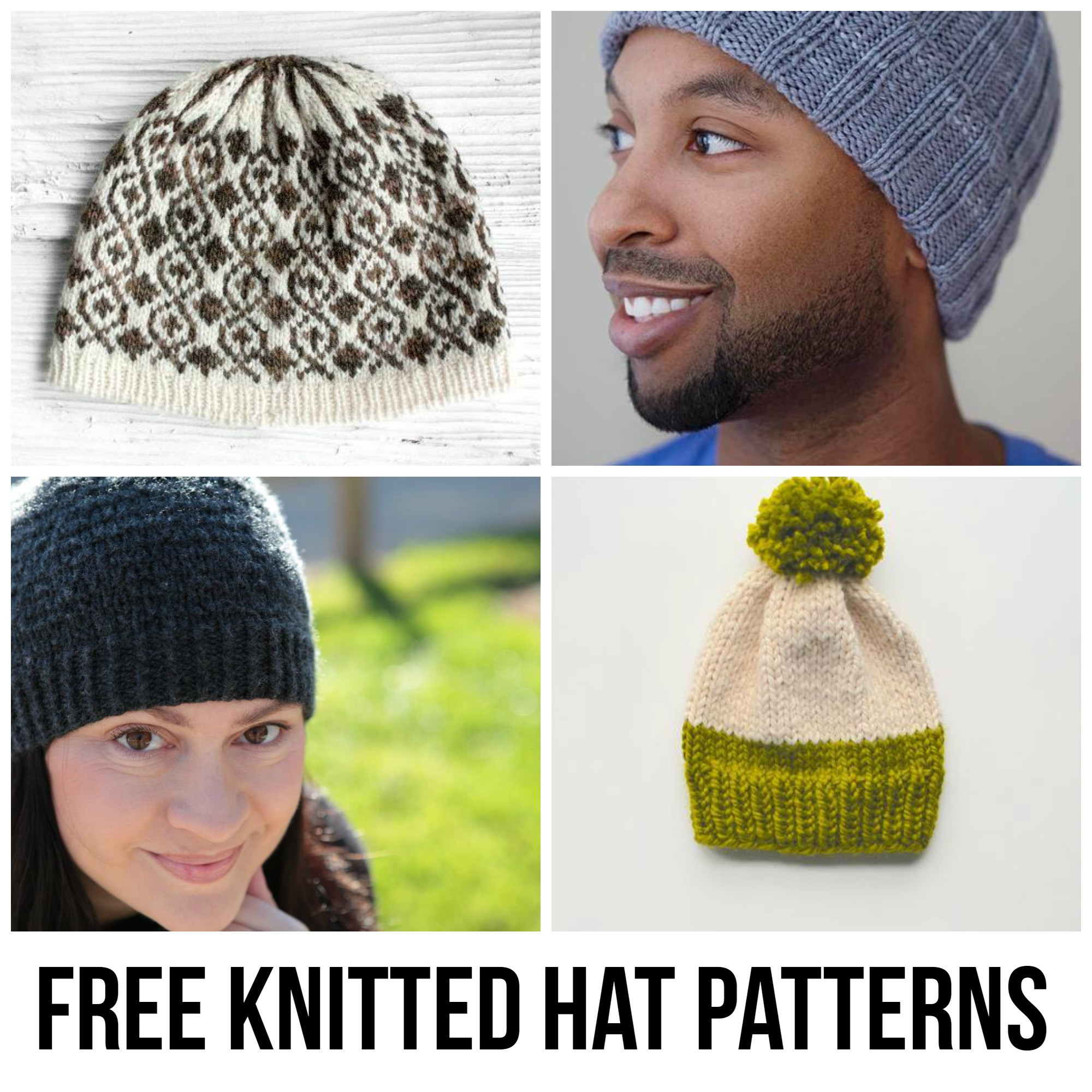 Lovely 10 Free Knitted Hat Patterns Free Hat Patterns Of Amazing 43 Models Free Hat Patterns