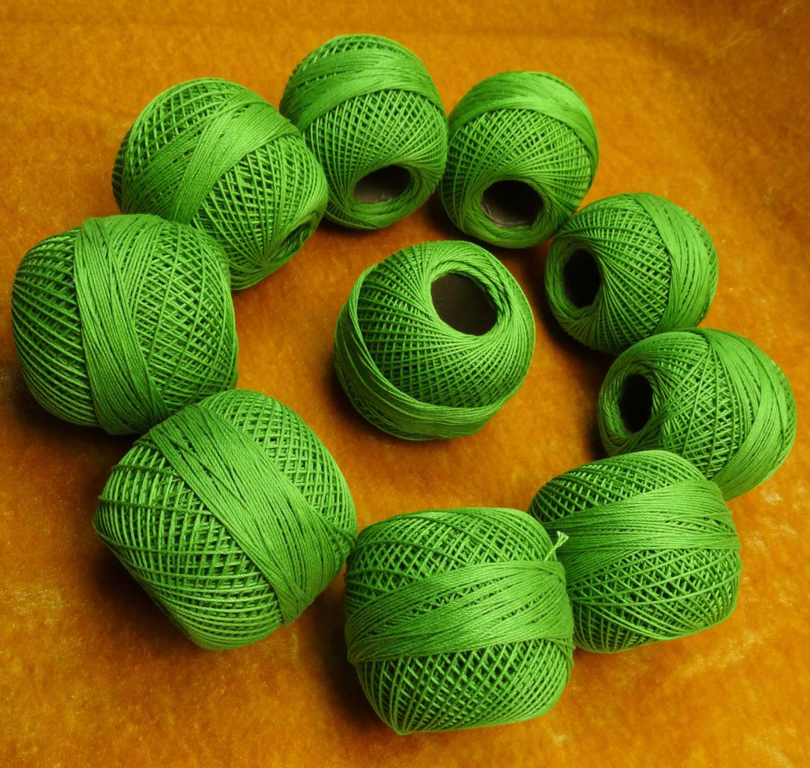 Lovely 10 Pcs Yellow Mercer Cotton Crochet Thread Yarn Tatting Crochet Cotton Thread Of New 50 Pics Crochet Cotton Thread