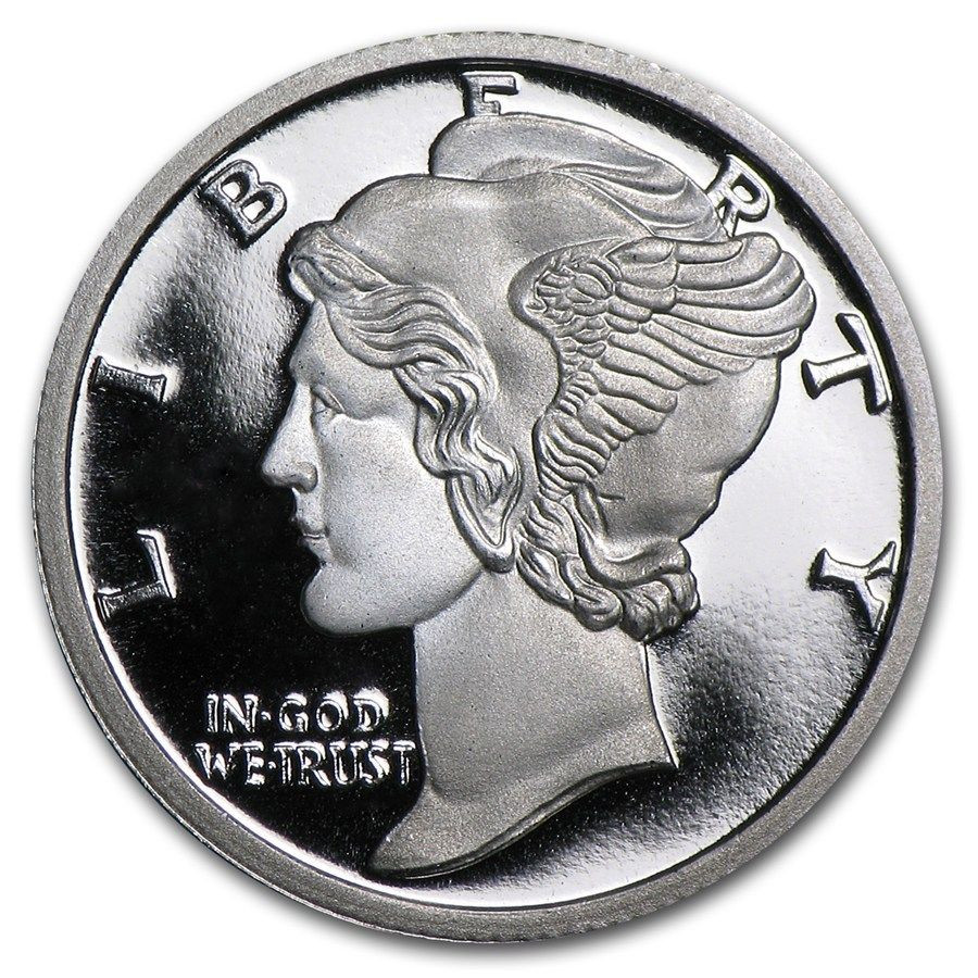 Lovely 10 X 1 10 Oz 999 Silbermedaille Silber Feinsilber Mercury Lady Liberty Dime Of Adorable 45 Pics Lady Liberty Dime