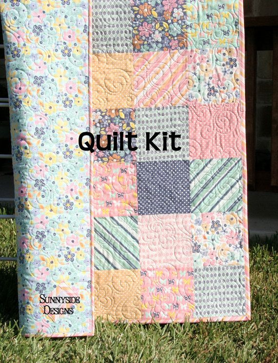 Lovely 1000 Images About Baby Quilt Kits On Pinterest Baby Blanket Kits Of Delightful 48 Pictures Baby Blanket Kits