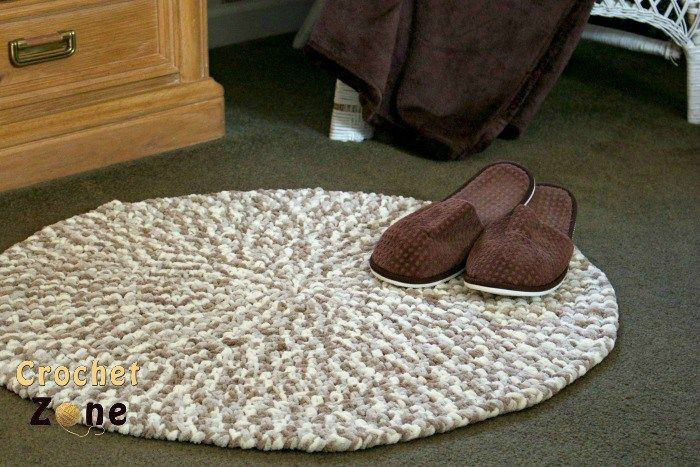 Lovely 1000 Images About Crochet Pillows & Rugs On Pinterest Crochet Rug Patterns with Yarn Of Great 50 Images Crochet Rug Patterns with Yarn