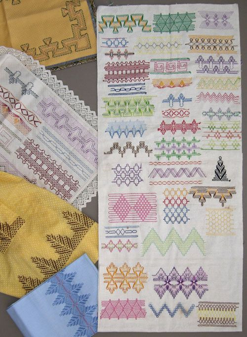 Lovely 1000 Images About Embroidery Swedish Weaving & Huck Weaving Stitches Of Wonderful 42 Images Weaving Stitches