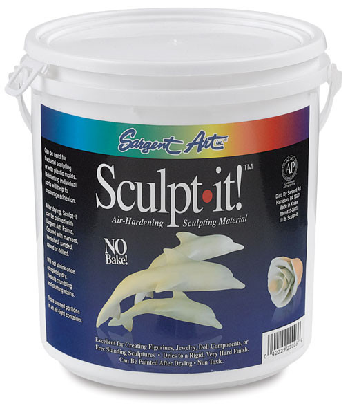 Lovely 1010 Sargent Art Sculpt It Air Hardening Clay Air Hardening Clay Of Gorgeous 45 Models Air Hardening Clay
