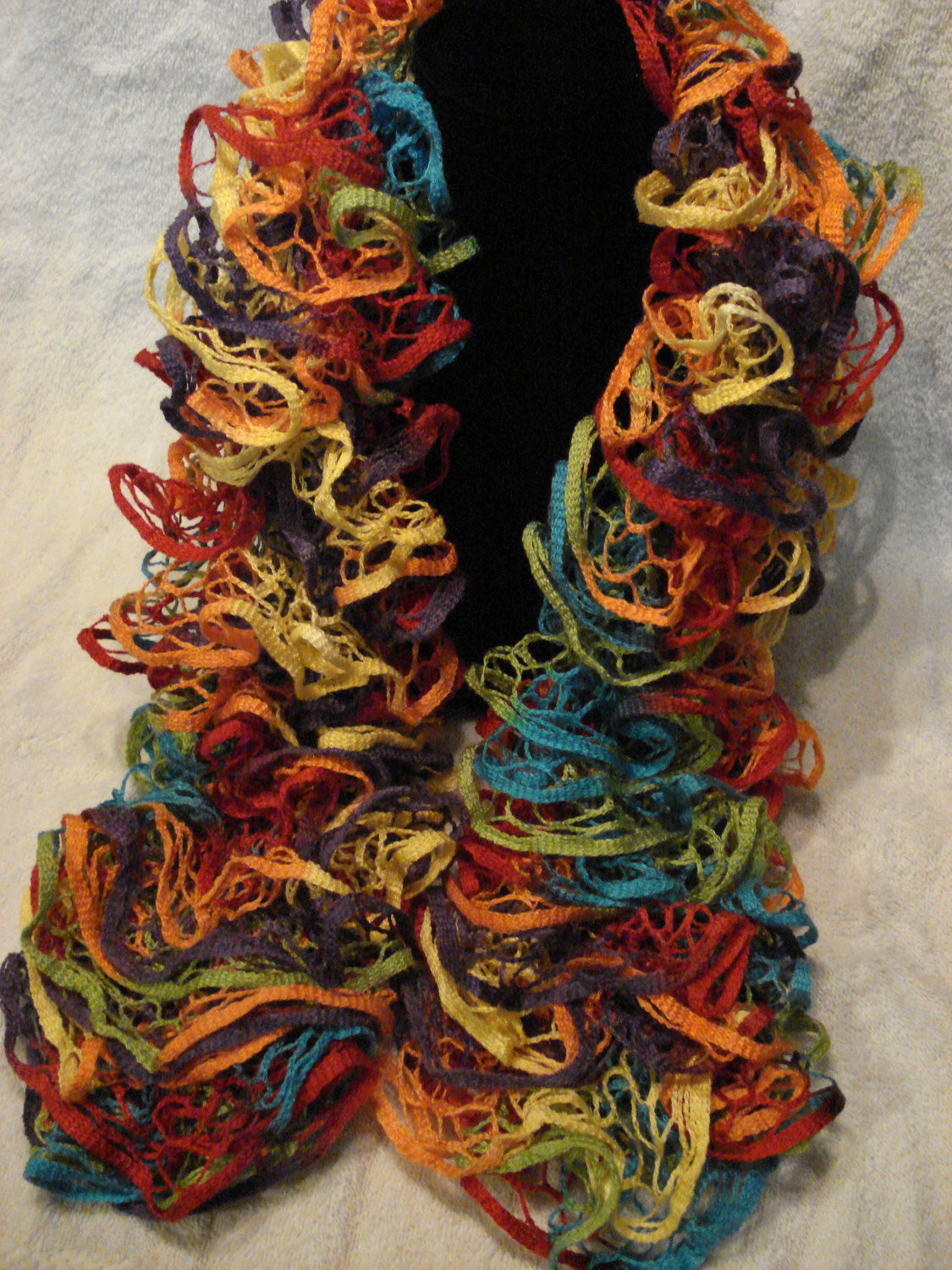 Lovely 11 Of 40 – Kitting Up Ruffle Scarf Of Unique 50 Pics Ruffle Scarf