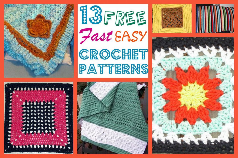 Lovely 13 Free Fast Easy Crochet Patterns Quick and Easy Crochet Patterns for Beginners Of Awesome 48 Photos Quick and Easy Crochet Patterns for Beginners