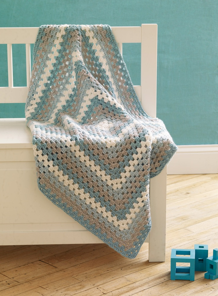 Lovely 14 Best Images About Cobijas Tejidas On Pinterest Granny Square Baby Blanket Pattern Of Innovative 45 Images Granny Square Baby Blanket Pattern
