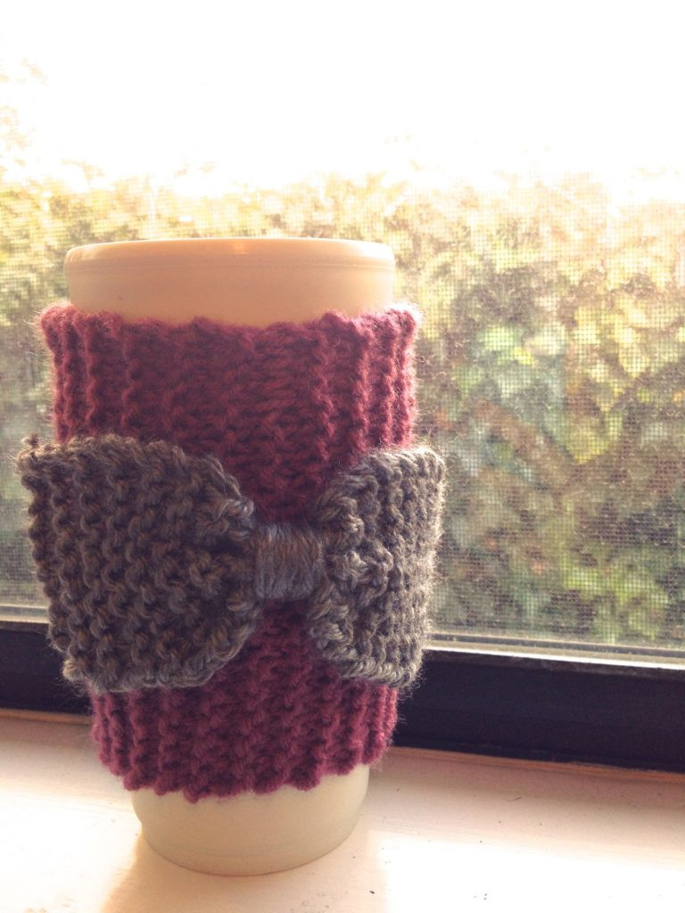 Lovely 15 Creative Diy Coffee Sleeves Knit Coffee Cozy Of Luxury 48 Photos Knit Coffee Cozy