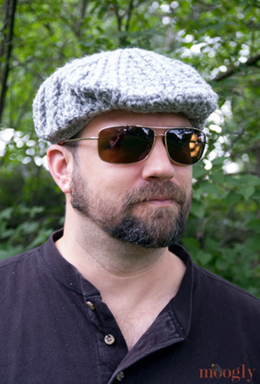 Lovely 15 Incredibly Handsome Winter Hats for Men to Knit or Crochet Mens Crochet Hat Pattern Of Charming 48 Ideas Mens Crochet Hat Pattern