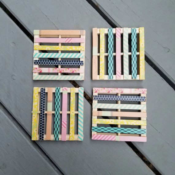 Lovely 17 Best Ideas About Mini Pallet Coasters On Pinterest Mini Popsicle Sticks Of Great 46 Photos Mini Popsicle Sticks
