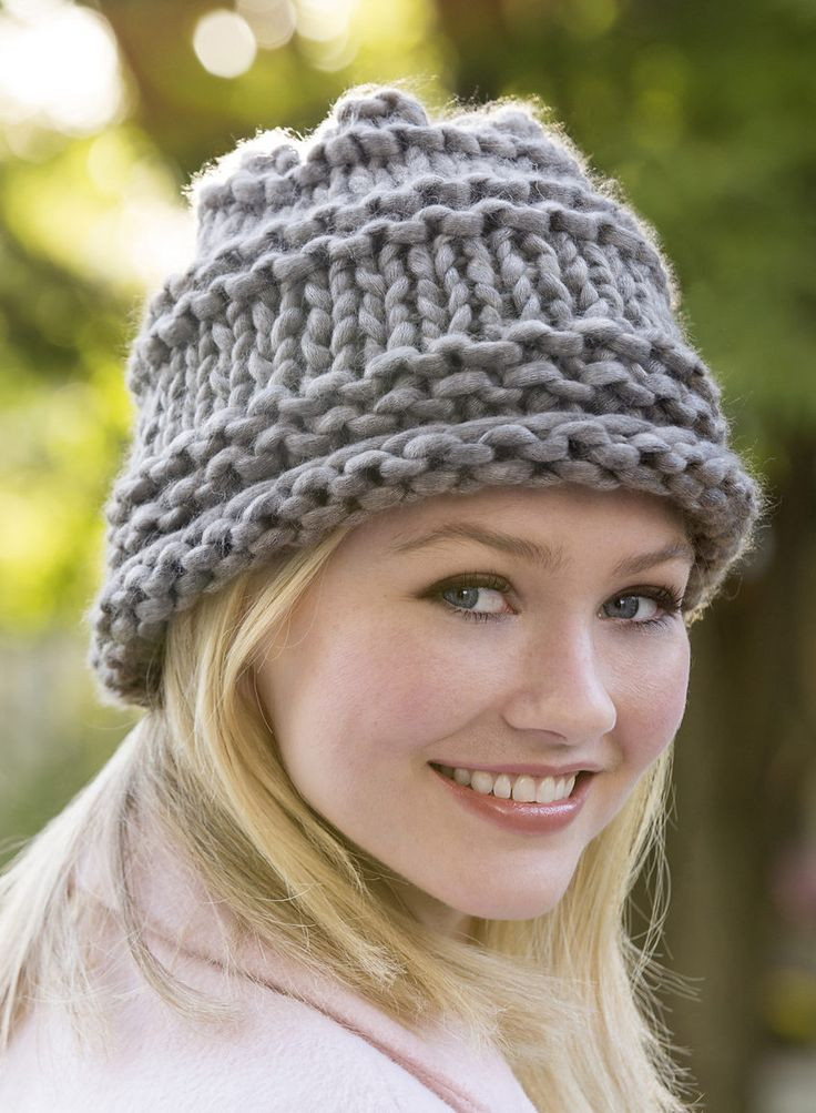 Lovely 17 Best Ideas About Super Bulky Yarn On Pinterest Crochet Hat Bulky Yarn Of Top 41 Pictures Crochet Hat Bulky Yarn