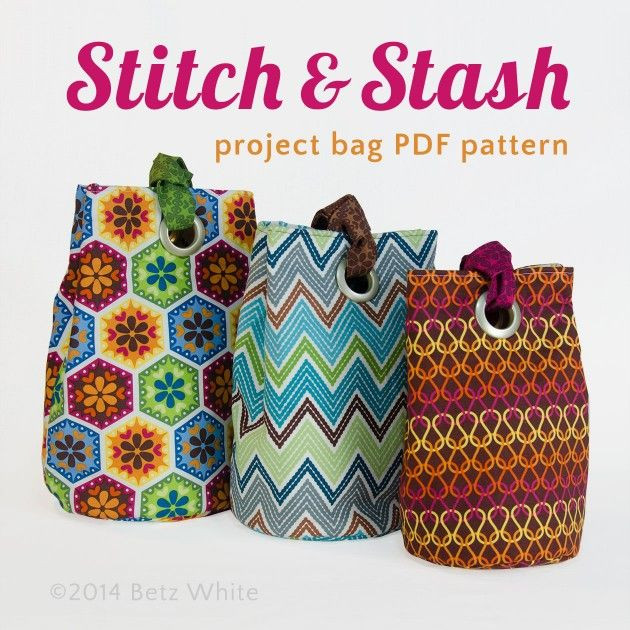 Lovely 17 Best Images About Bags and Pouches On Pinterest Project Bag Pattern Of Incredible 47 Models Project Bag Pattern