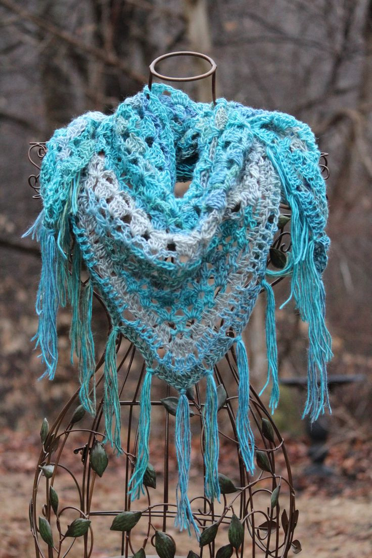 Lovely 17 Best Images About Crochet Scarf Cowl Patterns On Free Crochet Triangle Shawl Patterns Of Incredible 47 Models Free Crochet Triangle Shawl Patterns