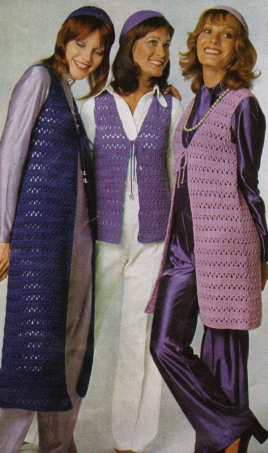 Lovely 17 Best Images About More Vintage Crochet 1 On Vintage Crochet Vest Pattern Of Top 48 Images Vintage Crochet Vest Pattern