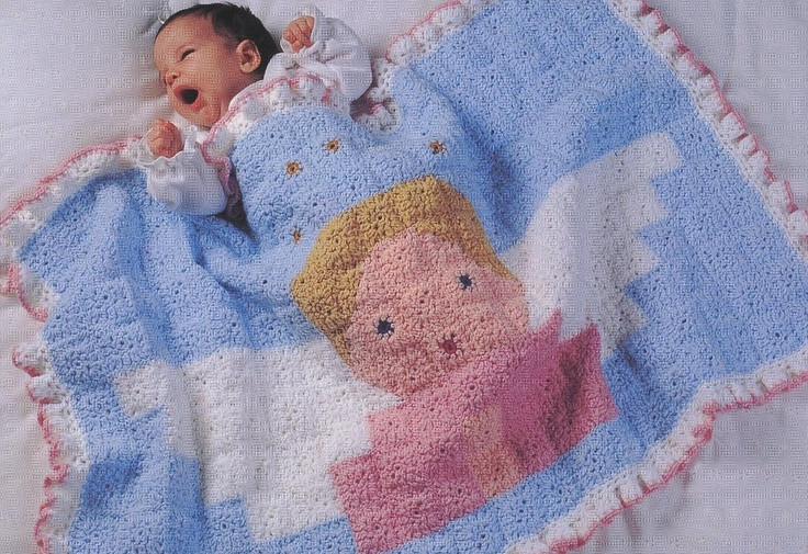 Lovely 17 Images About Cobijitas Para Bebe On Pinterest Angel Baby Blanket Of Perfect 46 Pictures Angel Baby Blanket