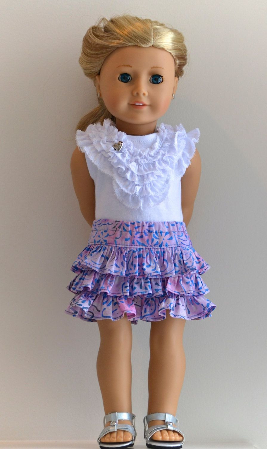 Lovely 18 Inch Doll American Girl Doll Clothing Knit top and American Doll Dresses Of Great 47 Images American Doll Dresses