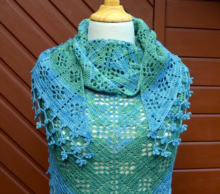 Lovely 18 Quick & Easy Crochet Shawl Pattern Quick Crochet Shawl Pattern Of New 41 Models Quick Crochet Shawl Pattern