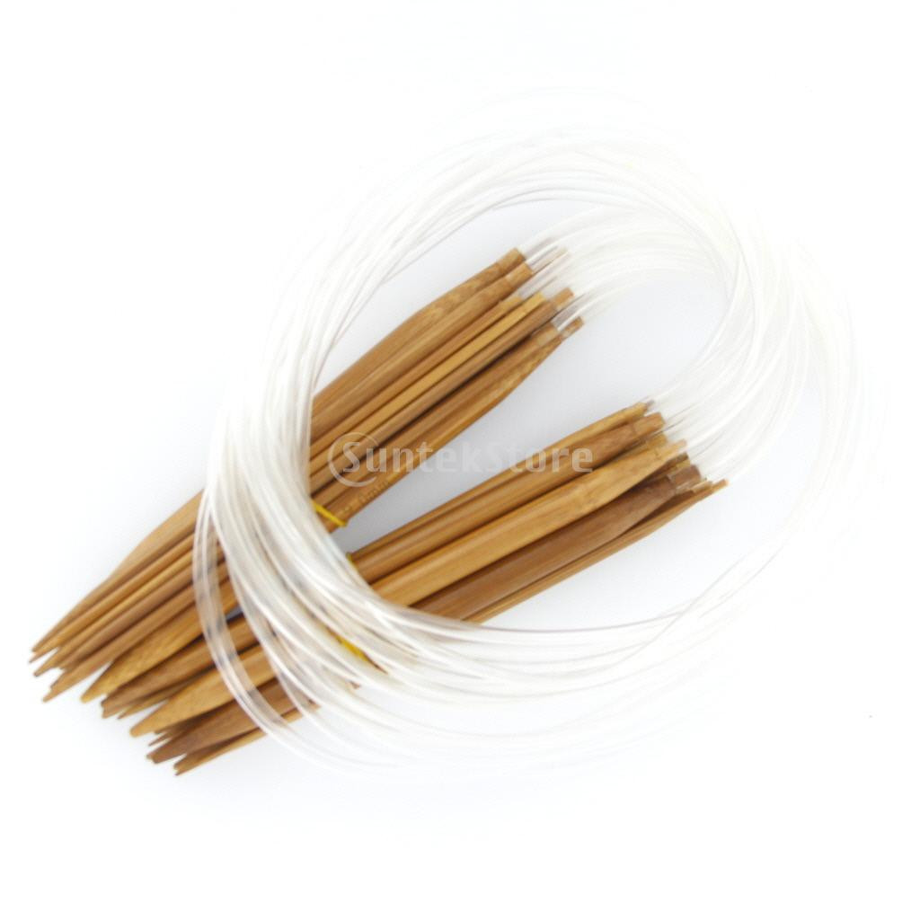 Lovely 18 Sizes 2 0mm 10 0mm 80cm Bamboo Circular Knitting Round Knitting Needles Of Amazing 50 Pics Round Knitting Needles