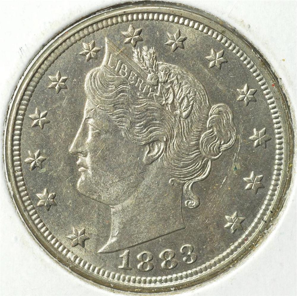 1883 Liberty V Nickel Without Cents Ships For Free