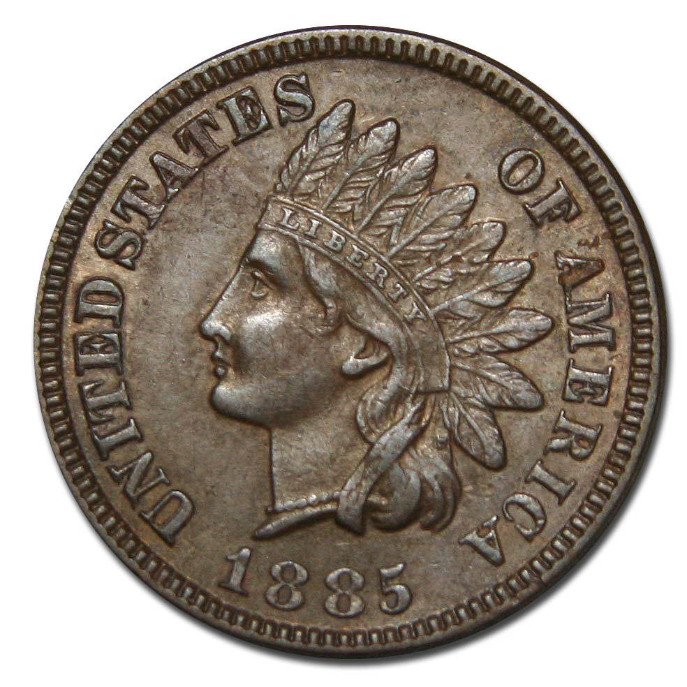 Lovely 1885 E Cent Indian Head Penny Coin Lot Mz 2246 Indian Penny Value Of Delightful 40 Pics Indian Penny Value
