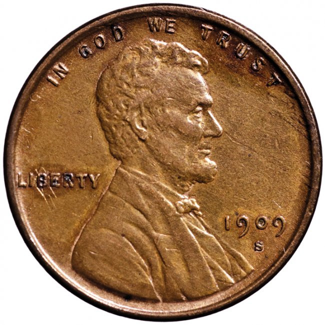 Lovely 1909 S Vdb Lincoln Head Cent Key Date Lot 372 Lincoln Head Penny Of Great 48 Models Lincoln Head Penny