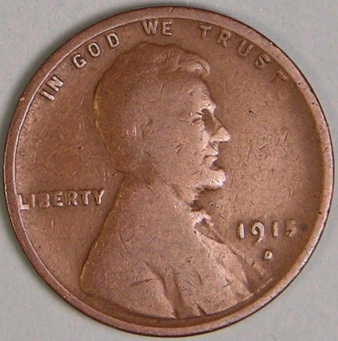 Lovely 1915 D Lincoln Wheat Penny Cent Jc 566 Lincoln Head Penny Of Great 48 Models Lincoln Head Penny