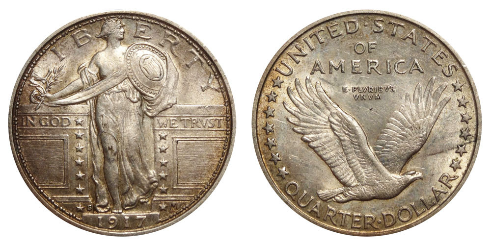 Lovely 1917 S Standing Liberty Quarters Type 1 Value and Prices Standing Liberty Quarter Value Of Awesome 49 Photos Standing Liberty Quarter Value