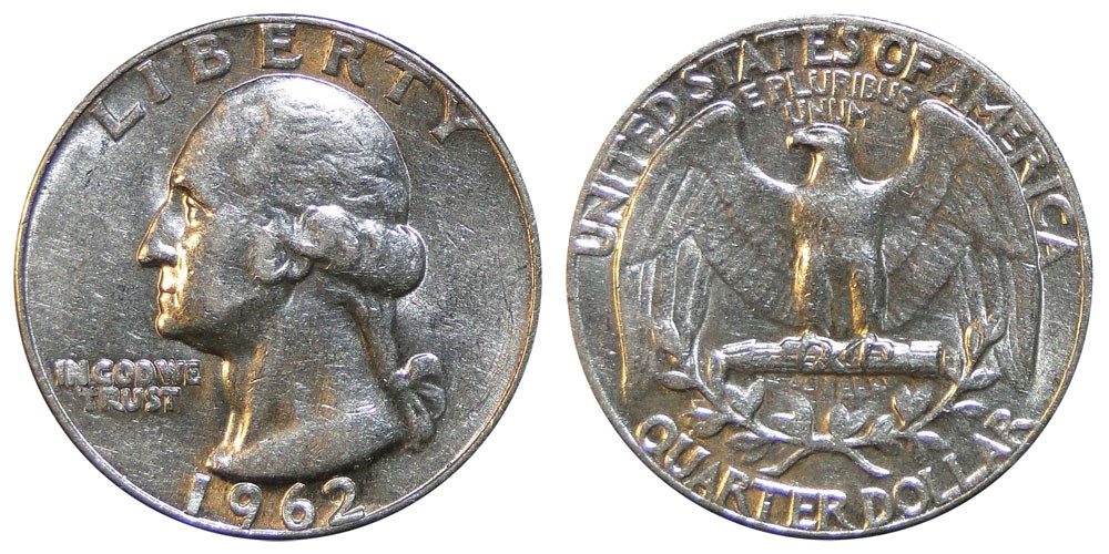 1962 Washington Quarters Silver position Value and Prices