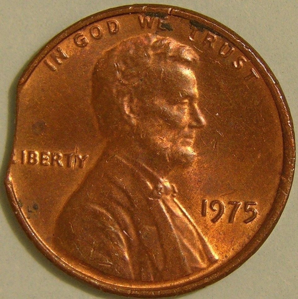 Lovely 1975 P Lincoln Memorial Penny Clipped Planchet Mint Double Die Penny Value Of Wonderful 48 Pictures Double Die Penny Value