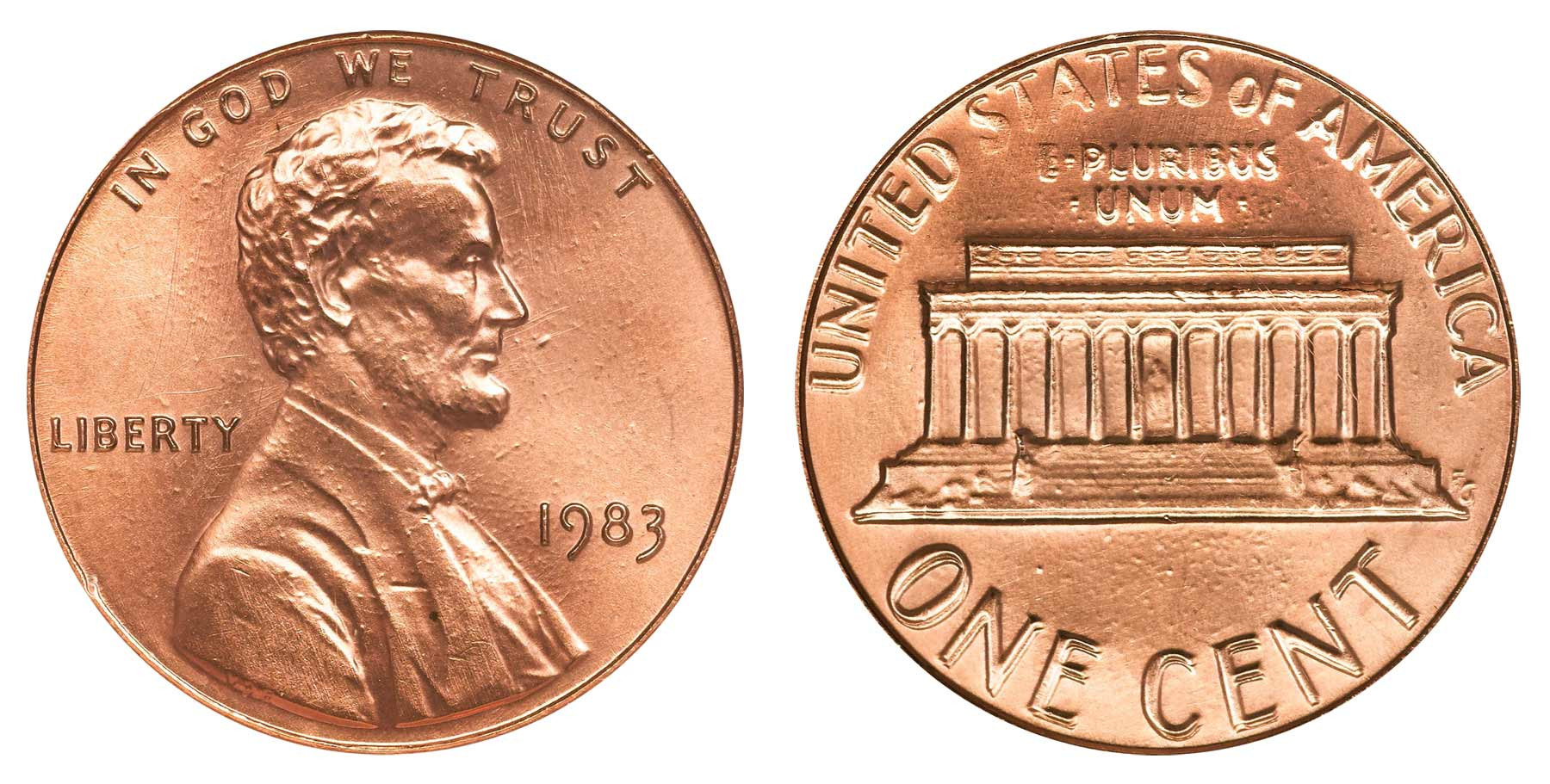Lovely 1983 Lincoln Memorial Cent Doubled Die Reverse Copper Double Die Penny Value Of Wonderful 48 Pictures Double Die Penny Value