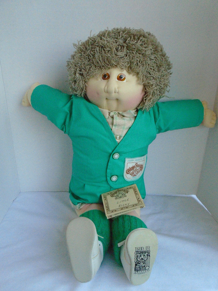 Lovely 1989 original Xavier Roberts Handsigned Little Ricky Small Cabbage Patch Dolls Of Unique 47 Pictures Small Cabbage Patch Dolls