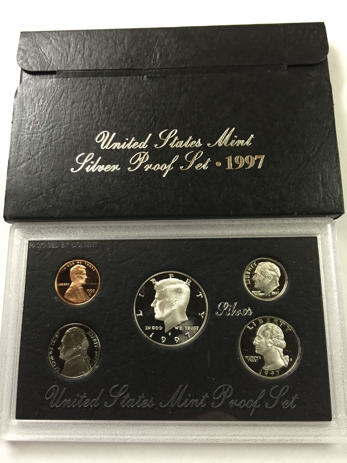 Lovely 1997 S United States Mint Silver Proof Set with Box and United States Mint Proof Set Of Charming 43 Photos United States Mint Proof Set