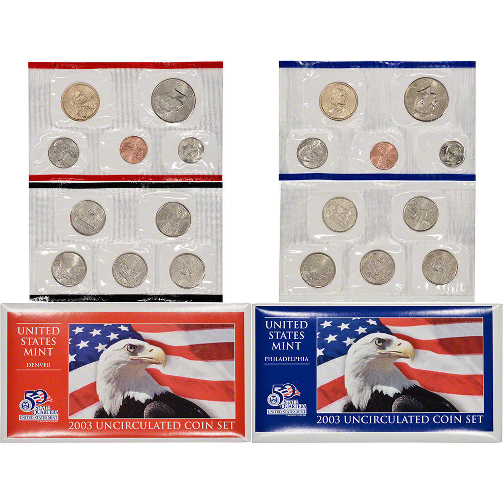 Lovely 2003 United States Mint Uncirculated Coin Set U03 Us State Quarter Collection Of Charming 49 Ideas Us State Quarter Collection