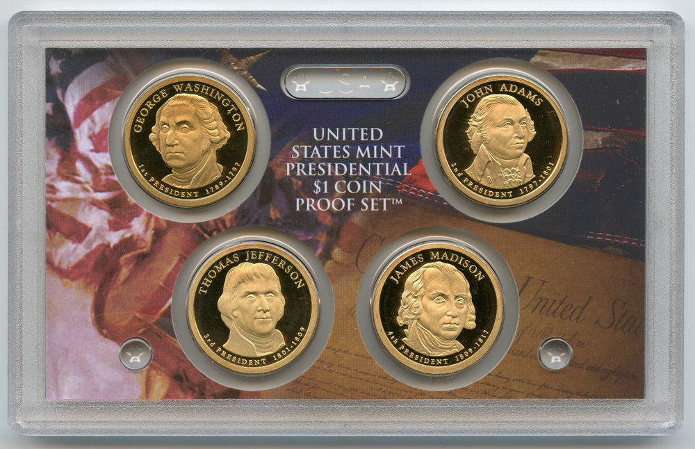 Lovely 2007 Presidential Dollars $1 Proof Coin Set United United States Mint Proof Set Of Charming 43 Photos United States Mint Proof Set