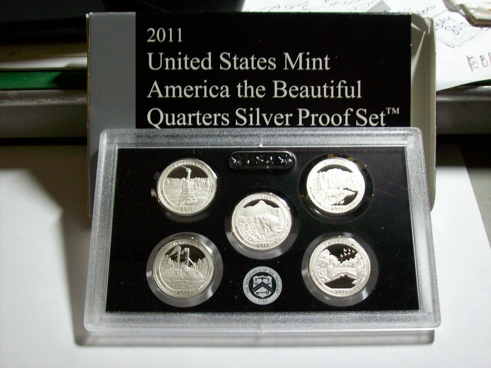 Lovely 2011 Us Mint America the Beautiful Quarters Silver Proof Us Mint Silver Proof Set Of Awesome 41 Ideas Us Mint Silver Proof Set