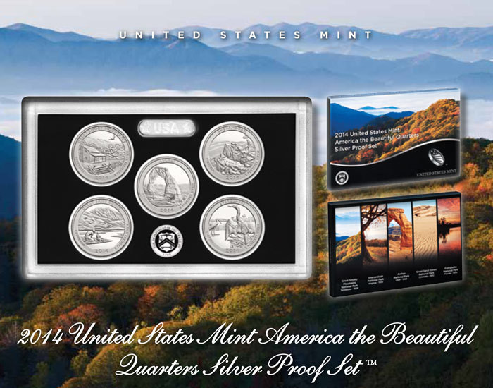 Lovely 2014 United States Mint America the Beautiful Quarters Us Mint Silver Proof Set Of Awesome 41 Ideas Us Mint Silver Proof Set