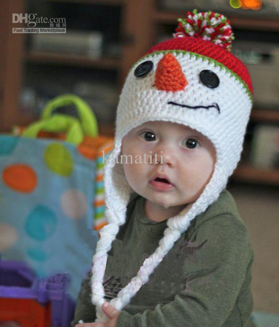 Lovely 2017 Boys Mr Frosty Crochet Baby Hat White Knit Snowman Baby Christmas Hat Of Brilliant 46 Photos Baby Christmas Hat