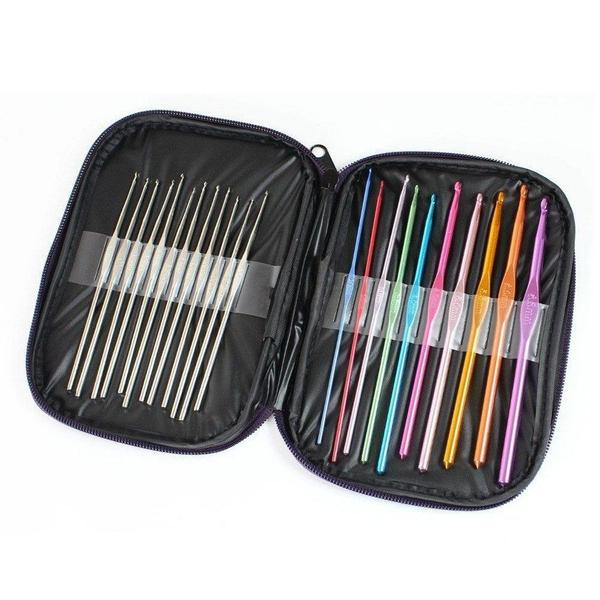 Lovely 22 Piece Crochet Hook Set and Case Free Shipping – Clever Clad Crochet Hook Sets with Case Of Amazing 49 Images Crochet Hook Sets with Case