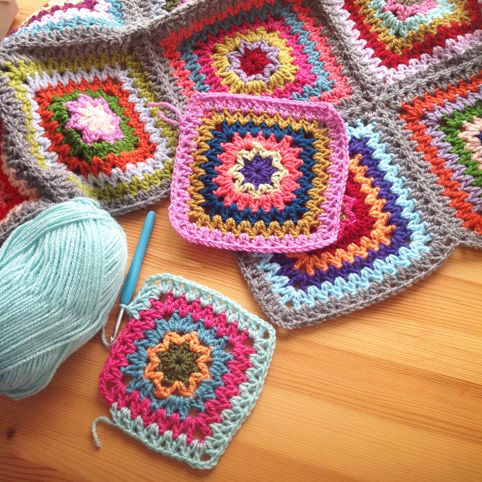 Lovely 2322 Best Images About Crocheted Motif Ideas On Pinterest Square Crochet Stitch Of Lovely 49 Photos Square Crochet Stitch