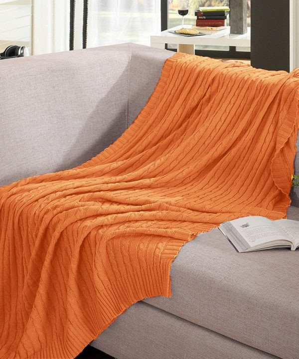 Lovely 25 Cozy Fall Throw Blankets Starting at Under $10 Cotton Knit Blanket Of Innovative 42 Models Cotton Knit Blanket