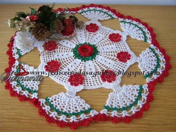 Lovely 33 Best Images About Crochet Christmas Doilies On Christmas Doilies Of Wonderful 44 Photos Christmas Doilies