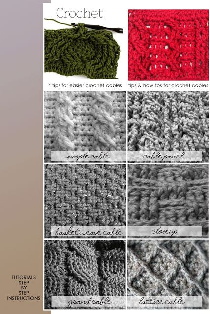 Lovely 354 Best Images About Crochet Stitch On Pinterest Different Types Of Crochet Stitches Of Innovative 44 Images Different Types Of Crochet Stitches