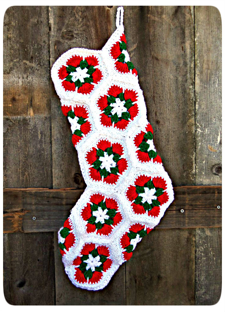 Lovely 3squeezes Crochet Christmas Stockings Granny Square Christmas Stocking Crochet Pattern Of Amazing 44 Pics Granny Square Christmas Stocking Crochet Pattern