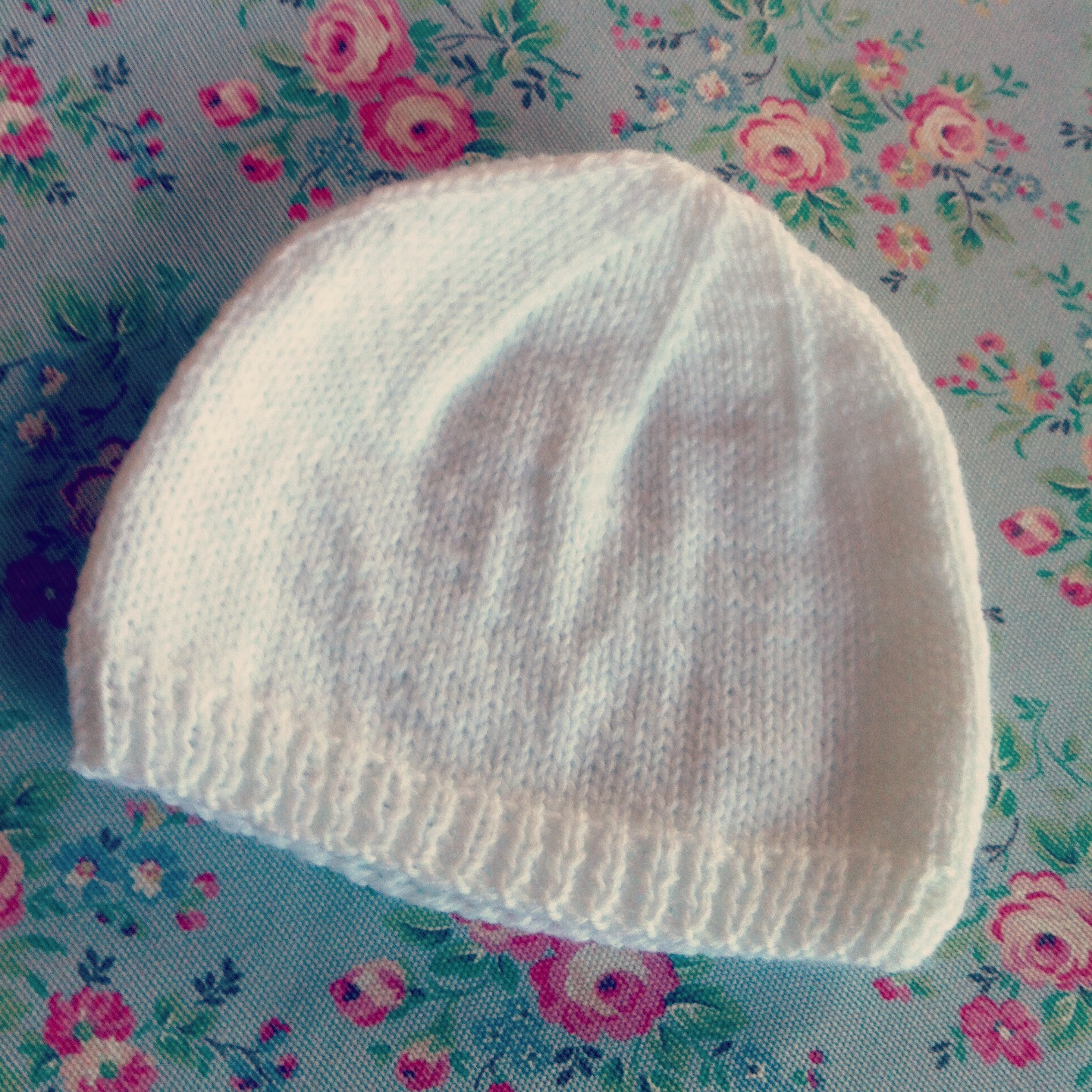 Lovely 4 Ply Baby Hat – Dappled Things Newborn Hat Knitting Pattern Of Lovely 49 Images Newborn Hat Knitting Pattern
