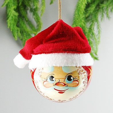 Lovely 46 Best Images About Christmas Ball Santa Claus On Santa Face ornaments Of Great 48 Photos Santa Face ornaments