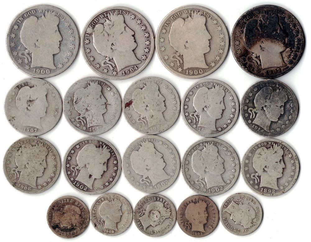 Lovely $5 Face Value Silver U S Coin Lot Barber Half Price Of Silver Quarters Of Adorable 42 Ideas Price Of Silver Quarters