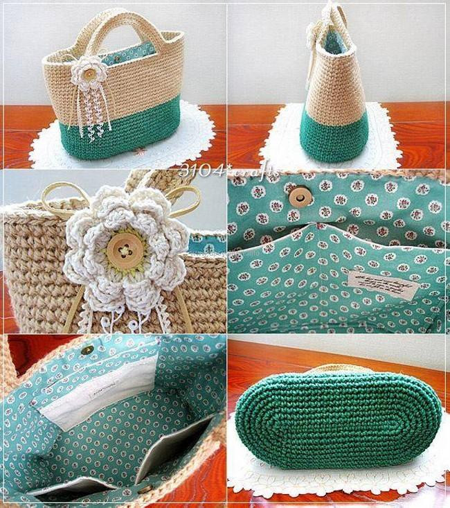Lovely 50 Crochet Bag Patterns Crochet tote Of Adorable 41 Images Crochet tote