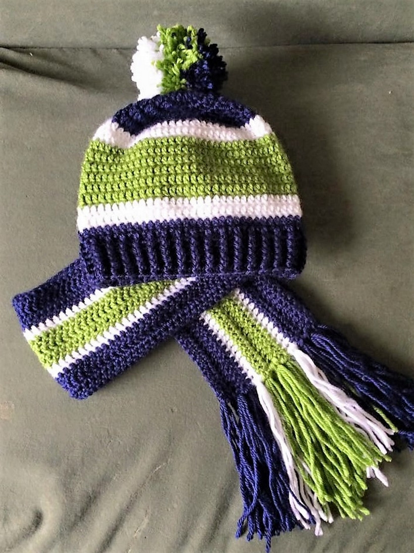 Lovely 50 Crochet Inspirations for Freshers Crochet Hat and Scarf Set Of Amazing 44 Models Crochet Hat and Scarf Set