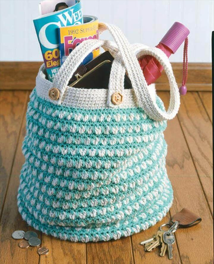 50 DIY Crochet Purse Tote & Bag Patterns